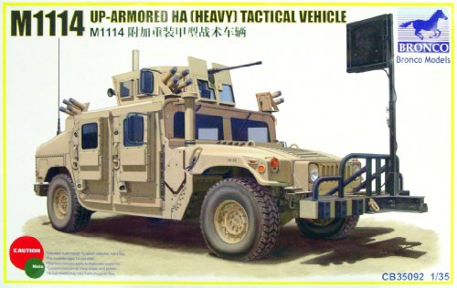 Bronco Models 1/35 M1114 Up-Armored HA (Heavy) Tactical, used for sale  Delivered anywhere in USA