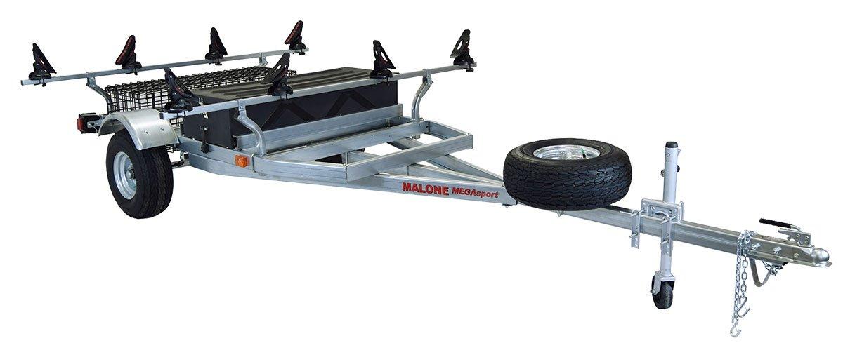 Malone Auto Racks 2 boat trailer package w/storage - Saddle Up Pro by Malone