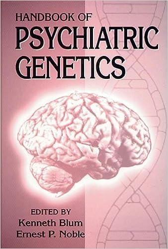 Handbook of Psychiatric Genetics