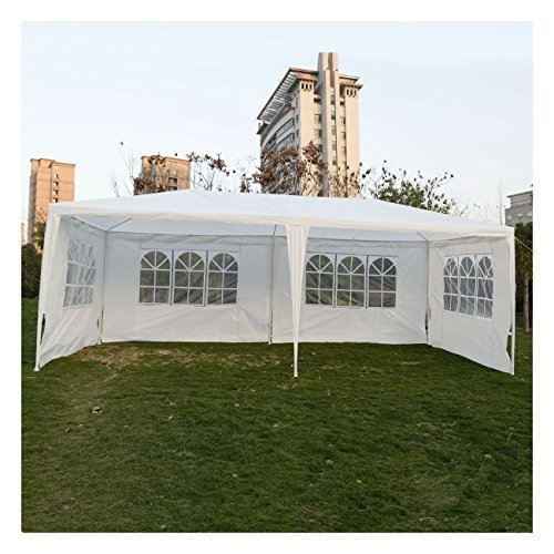 Outdoor 10'x20'Canopy Party Wedding Tent Gazebo Pavilion Cater Events 4 Sidewall