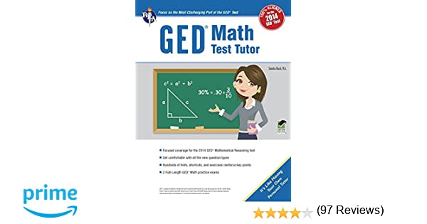 GED® Math Test Tutor, For the 2014 GED® Test (GED® Test ...