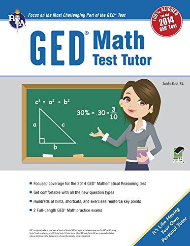 GED® Math Test Tutor, For the 2014 GED® Test (GED® Test Preparation)