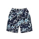 WeiYin Men's Plus Size Swim Shorts Surf Shorts