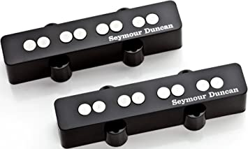 Seymour Duncan cuarto de libra Jazz Bass Pickup Set,: Amazon ...