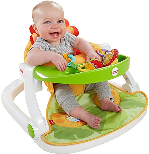 Image of the Fisher-Price Sit-Me-Up Floor Seat with Tray