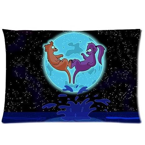 Amazon.com: Dibujos animados Futurama Leela y freír luna ...