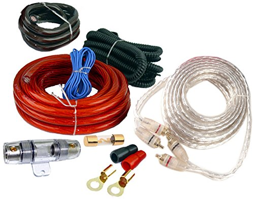 4 GAUGE AMP KIT WATTS CAR TRUCK BOAT AMPLIFIER INSTALL POWER 4AWG USA NEW -  Unbranded, MPN_mx1_221169454767