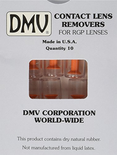 DMV Ultra Hard Contact Lens Remover - Orange (Pack of 10)