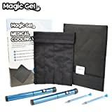 Premium Insulin Cooling Wallet by MagicGel. A Diabeties travel cold pack with no fridge or freezer needed! (Large)