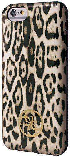 Guess GUHCP6LSPCH Animalier Leopard Drucken TPU Schutzhülle für Apple iPhone 6 Plus/6S Plus braun