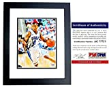 Nolan Smith Signed - Autographed Duke Blue Devils 8x10 Photo - BLACK CUSTOM FRAME - PSA/DNA Certificate of Authenticity (COA)