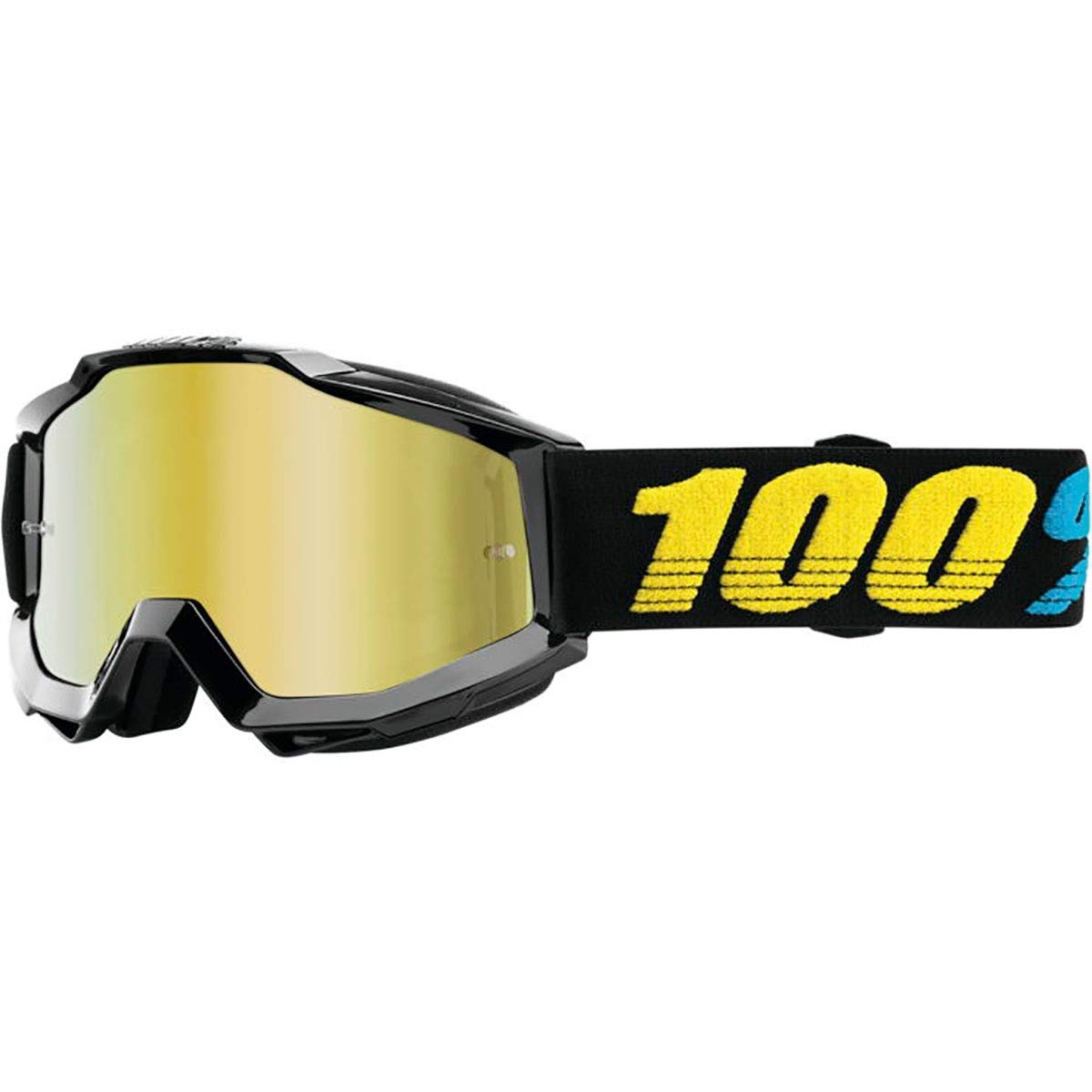 100% Accuri Goggles - Mirrored Lens (Virgo/Gold Lens) by 100%