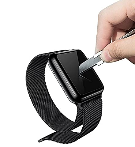 Smart iWatch 42mm Tempered Glass Screen Protector Anti-scratch Anti-fingerprint Bubble-free Ultra-thin HD-clear Screen Protector for Apple iWatch 42mm Series 1 Series - Tech Station Kit