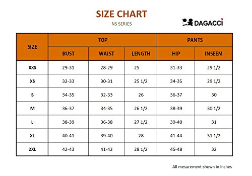 Dagacci Medical Uniform Women's Scrub Set Stretch and Soft Y-Neck Top and Pants, Red, S by Dagacci Medical Uniform (Image #5)