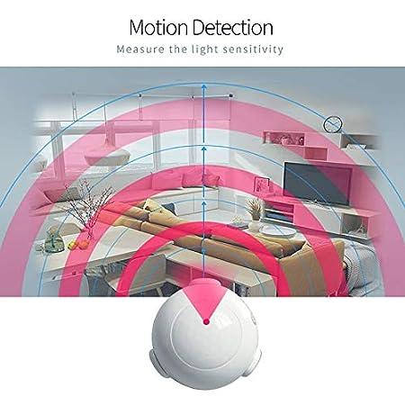 NAS-PD01Z Z-WAVE Plus PIR Sensor de movimiento Detector inteligente Alarma de automatización del hogar: Amazon.es: Bricolaje y herramientas