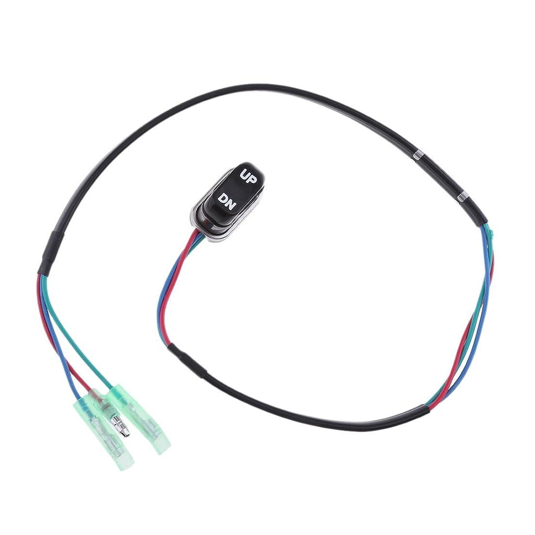 真実判読できない医薬Fenteer Yamaha Side Mount 10 Pin Cableに対応 船舶用品 船外機リモートコントロールボックス アウトボードリモコン ブラック