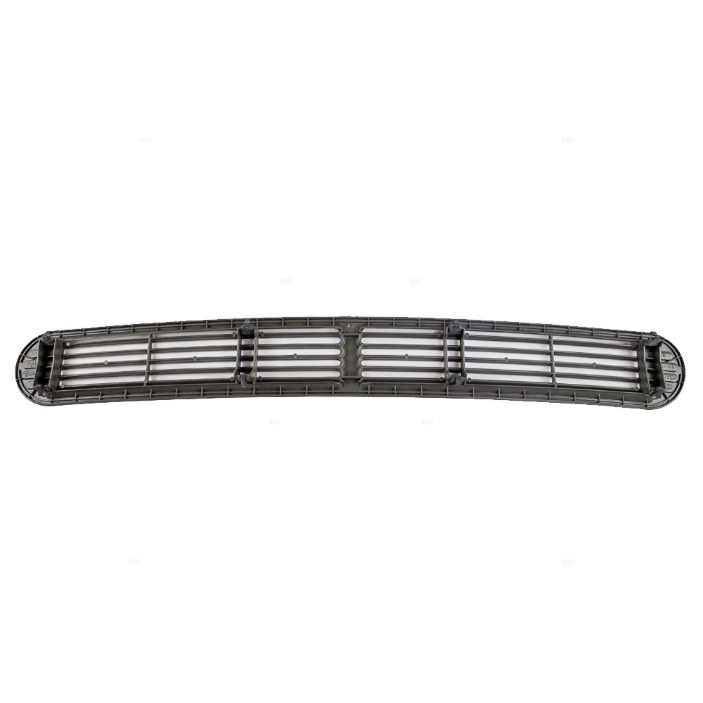 Gray Pewter Dash Defrost Vent Cover Grille Panel Replacement for Chevrolet GMC Oldsmobile SUV Pickup Truck 15046436
