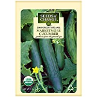Seeds of Change 01024 Certified Organic Marketmore Cucumber