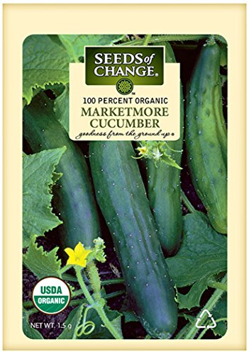 Seeds of Change Certified Organic Marketmore Cucumber
