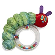 Eric Carle The Very Hungry Caterpillar Ring Rattle, 6
