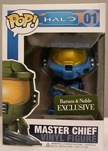 Halo Master Chief (Blue) Barnes and Noble Exclusive Pop! Funko Vinyl Figure