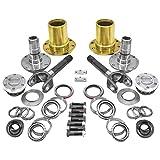 Yukon (YA WU-07) Spin Free Locking Hub Conversion Kit for Jeep TJ/XJ/YJ Dana 30 Differential