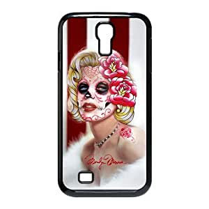 Marilyn Monroe Colorful Skull Face Samsung For SamSung Galaxy S3 Phone Case Cover I9500 pragmatic and lightweight Cover Case