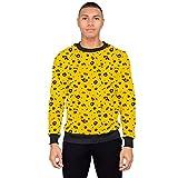 Costume Agent Tekashi69 Rapper Music Fefe Yellow Sweater (Adult 3X-Large)