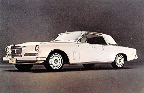 Studebaker '64 Gran Turismo Hawk Automobile Car Advertising Postcard J927883