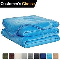 Extra Soft Luxury Microplush Bed Blankets/Super Warm Fleece Sofa Blanket…