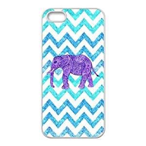 19 Customized Elephant Diy Design For iPhone 5/5s Hard Back Cover Case GU-48