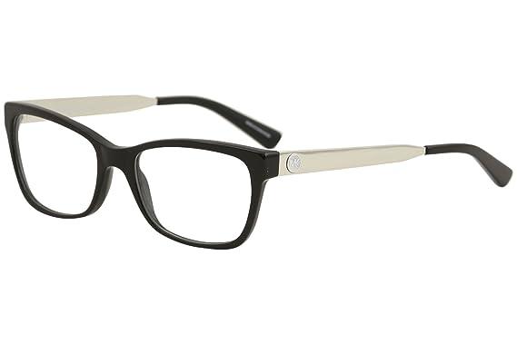 96e117f9f5b Image Unavailable. Image not available for. Color  Michael Kors Eyeglasses  Marseilles MK4050 MK 4050 3163 Black Optical Frame 53mm