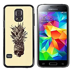 Exotic-Star ( Skull Tattoo Art Drawing ) Fundas Cover Cubre Hard Case Cover para Samsung Galaxy S5 Mini / Samsung Galaxy S5 Mini Duos / SM-G800 !!!NOT S5 REGULAR!