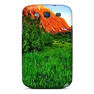 Forever Collectibles Mountain Grass Hard Snap-on Galaxy S3 Case