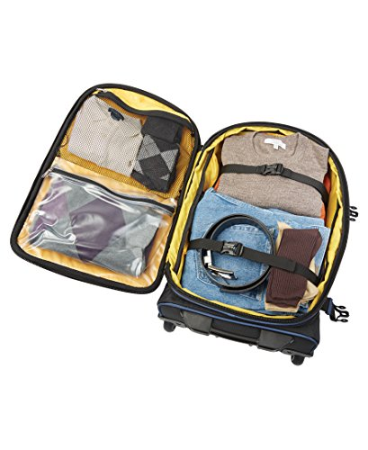 """Travelpro Luggage Bold 22"""" Expandable Rollaboard, Navy/Black"""