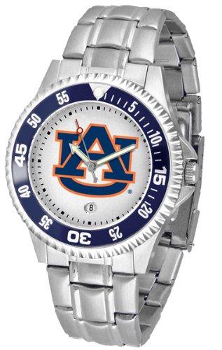 (Auburn Tigers Competitor Steel Men's Watch )