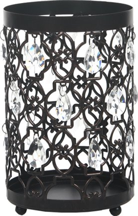 Hosley Tea light/Votive Candle Holder Romantic Sparkle Lantern 7.8