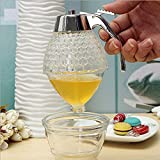 Namivad Honey Dispenser Jar Container Acrylic Cup Juice Syrup Kettle
