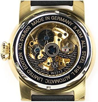 'weitz Uomo di scheletro orologio automatico