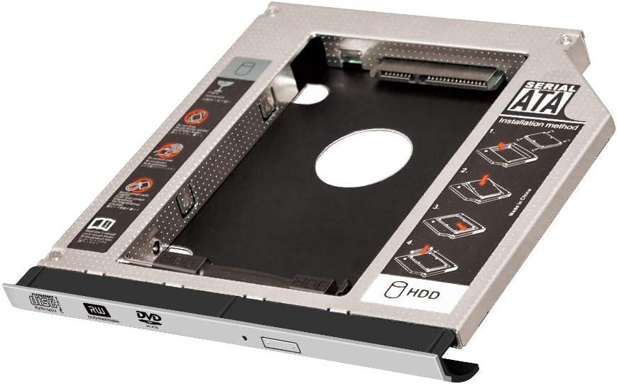 with Bezel 2ND Hard Drive Caddy for Dell Latitude E5400 E5420 E5420M E5430