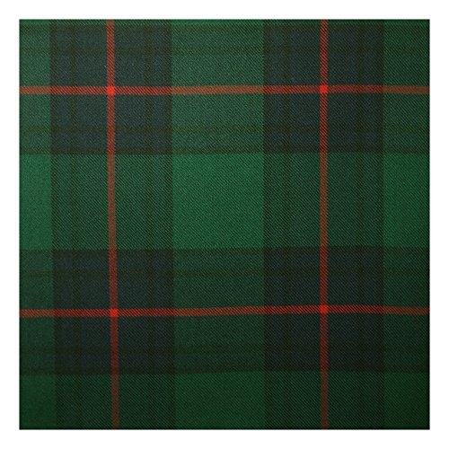 Mini Sash with Rosette, 100% Scottish Wool Tartan Ladies Mini Sash (Shaw Modern (green))