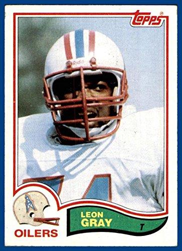 1982 Topps #99 Leon Gray HOUSTON OILERS Jackson State (ex) -