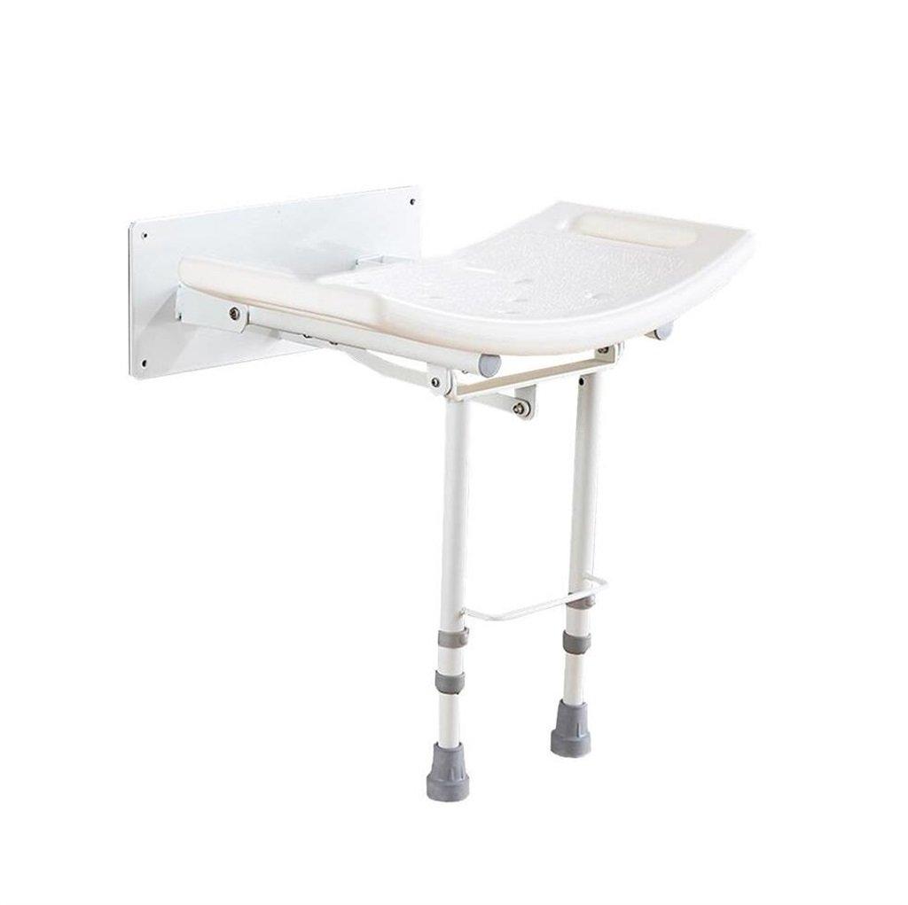 数量は多い  壁掛け式折りたたみ式シャワーチェアと椅子/身長の異なる人に適した障害妊婦と高齢者のための大浴場用スツール安全なノンスリップ最大荷重115kg   B07F3X3ZMJ, 板倉町:995af6a3 --- kqcrowns.net