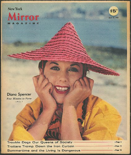 NEW YORK MIRROR Diana Spencer German trotter Rudolph R 7 1959 ()