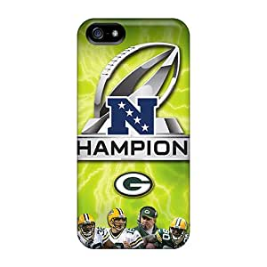 Hot Fashion Izx2195MGnY Design Case Cover For Iphone 5/5s Protective Case (green Bay Packers)