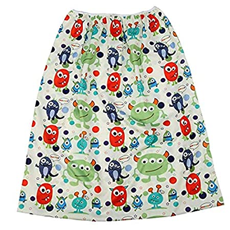 Fox Pail Liner for Cloth Diapers Nappy Inserts Large Wet Bag Elastic Washable Reusable 27.6in x29.5in