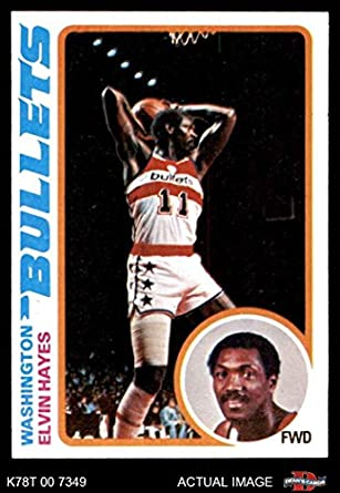 63c78f5e6 1978 Topps   25 Elvin Hayes Washington Bullets (Wizards) (Basketball Card)  Dean s
