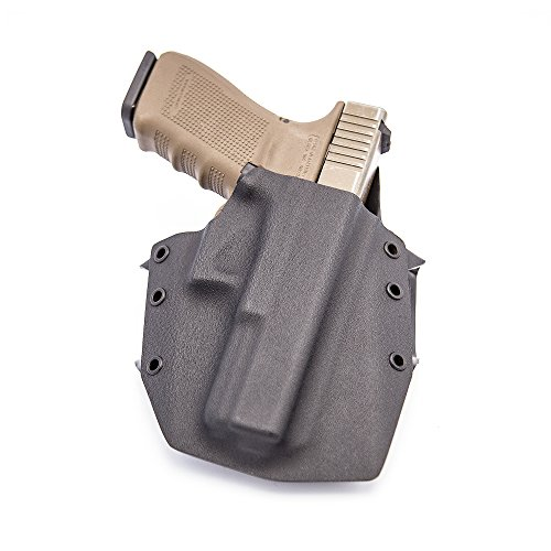 GunfightersINC Ronin OWB Holster for Glock 20/21, Black, Right Hand