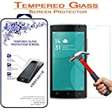 Doogee X5 Max Screen Protector, Nacodex [Tempered Glass] 0.3mm Ballistic Glass For Doogee X5 Max [2.5D Round Edge] [9H Hardness] [High Definition]