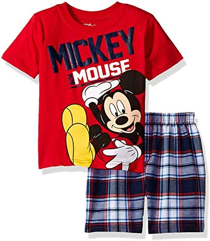 Disney Mickey Mouse Plaid T Shirt product image